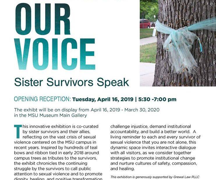 Finding Our Voice: Sister Survivors Speak